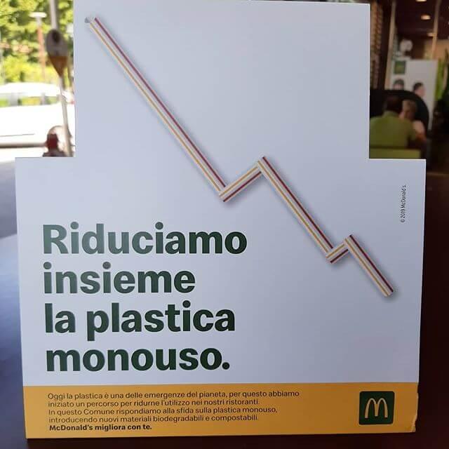 Strategia green marketing di McDonald