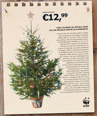 strategia di marketing natalizia Ikea 2019 albero di Natale