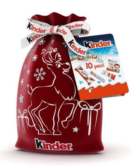 kinder packaging 2019 natale