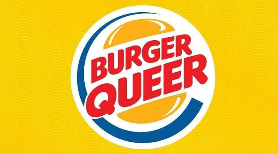 brand cambiano logo burger queer